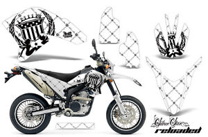 Decal Graphics Kit Wrap + # Plates For Yamaha WR250R