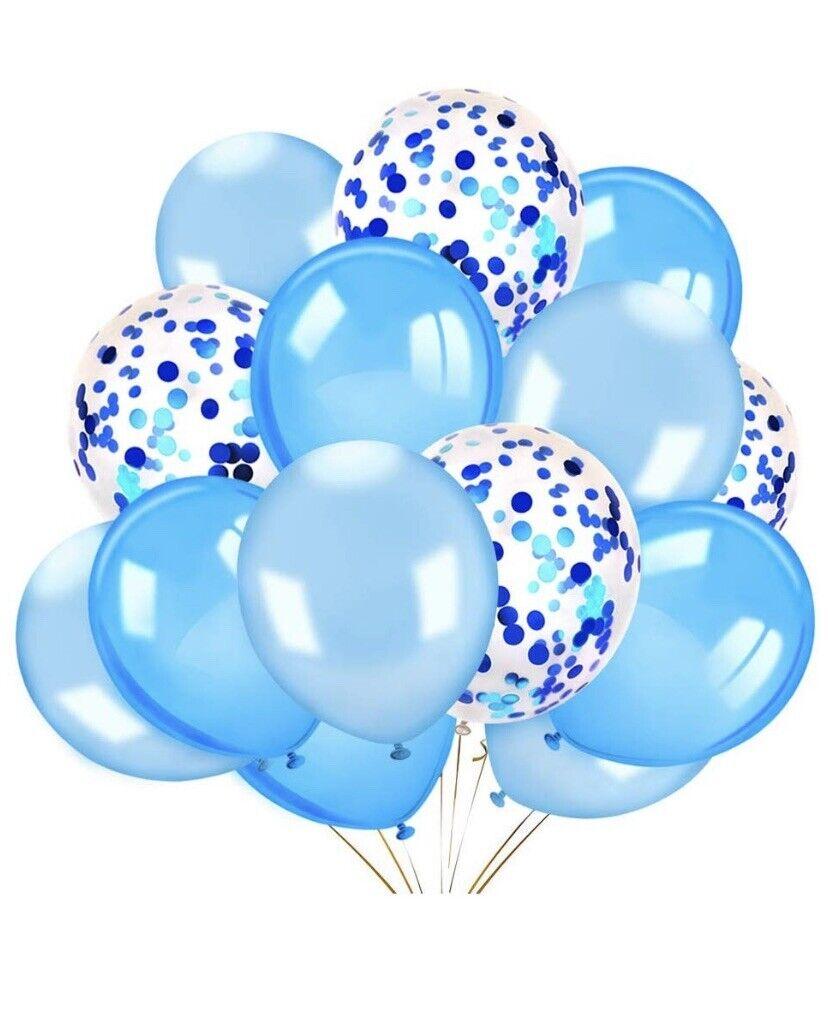 Decoracion Para Baby Shower : decoracion, shower, Globos, Confeti, Decoraciones, Shower, Fiestas, Cumpleaños, Niño, Online