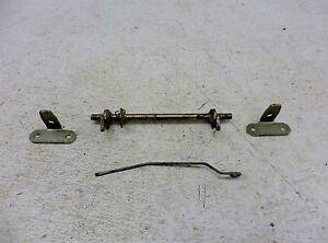 1987 Yamaha Virago XV535 535 Y604. seat latch and brackets