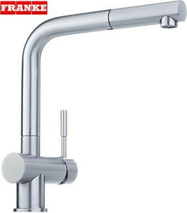 kitchen tap short wall cabinets franke atlas stainlees steel pull out spray mixer new image is loading