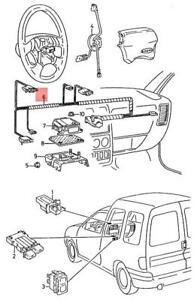 Genuine SEAT VW Cordoba Vario Ibiza St Inca wiring harness