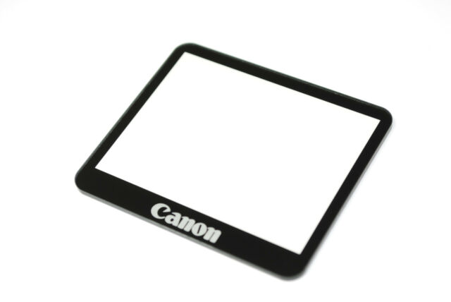 Canon EOS Rebel XS / 1000D LCD Window outer Glass Screen