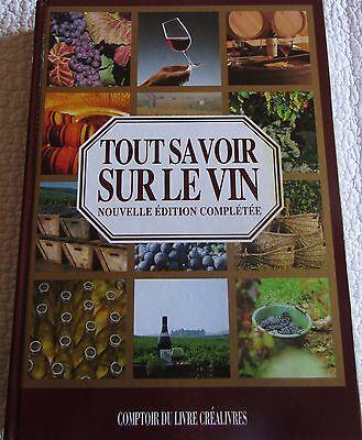 Tout Savoir Sur Le Vin : savoir, Livre, Savoir, Comptoir