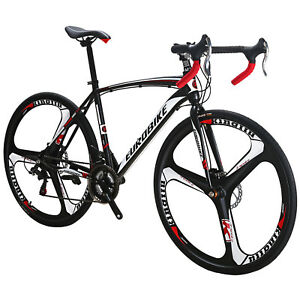 700C Road Bike Shimano 21 Speed Cycling Bicycle Disc ...