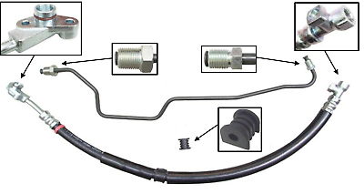 Car & Truck Engines & Components *NEW* POWER STEERING HIGH