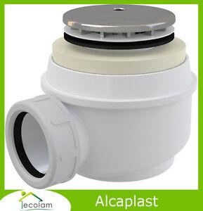 Ablaufgarnitur für Duschwannen Ablauf Siphon Ø 50 mm ABS Chrom Dusche Alcaplast eBay