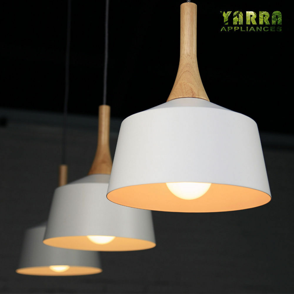 Modern Fittings Pendant Lighting Contemporary Wooden