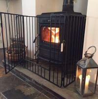 Nursery Stove Fire Guard Black Safety Fireplace Child Kid ...