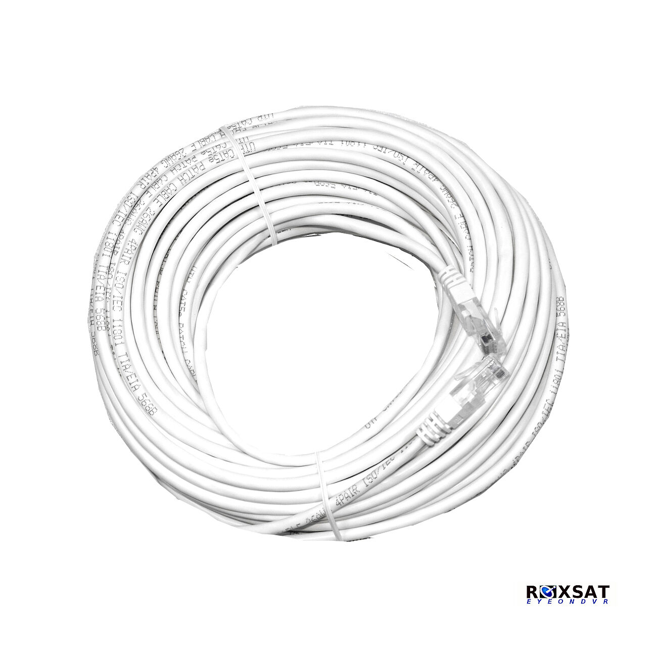 IP 50FT CAT5E-RJ-45 UTP CAT5E cable white CAT5E-50FT