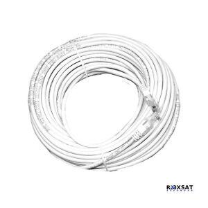 IP 50FT CAT5E-RJ-45 UTP CAT5E cable white CAT5E-50FT
