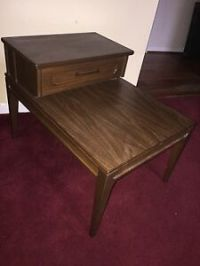 VTG Mid Century Modern Mersman Two Level Tier Step Side ...