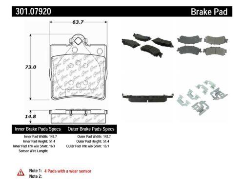 Auto Parts & Accessories Disc Brake Pad Set-Premium