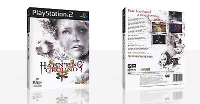- Haunting Ground PS2 Replacement Game Case Box + Cover