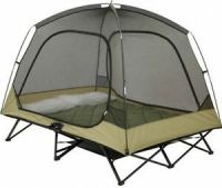 Cot Tent 2 Person Camping Hunting Padded Floor Elevated ...