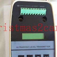 4 Wire Ultrasonic Level Transmitter 2008 F250 Trailer Wiring Diagram New 20ma Integrated 5m Meter Water Gauge Image Is Loading