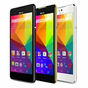 "BLU Studio C 5+5 S0050uu 5"" 8GB 5MP 4G LTE Cell Phone GSM Unlocked Android NEW"