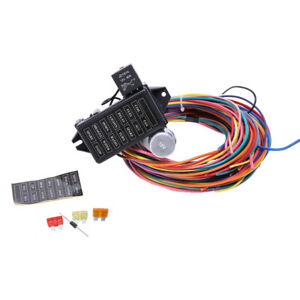 universal ignition switch wiring 1998 ez go txt diagram 12 circuit harness great installation of wire 14 fuse 12v street hot rat muscle rh ebay com