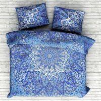 Indian Star Psychedelic Mandala Bedding Duvet Quilt Cover ...