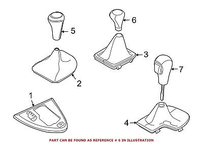 For BMW Genuine Manual Transmission Shift Knob Center