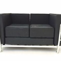 One Sofa Seat Slipcover Canada Miniature Love Black 1 12 Scale Mid Century Designer Image Is Loading