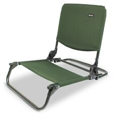 qdos fishing chair desk chairs made in usa q dos bedchair buddy carp bed back rest folds flat abode dlx oxford recliner sit on