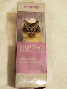 Sentry Stop That! Behavior Correction Spray for Cats 1 oz (29 g) 73091053330   eBay