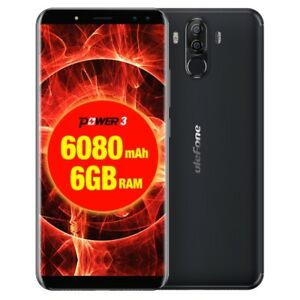 "6.0"" Ulefone Power 3 6GB+64GB Face ID Phablet Android 7.1 6080mah Octa-core LTE"