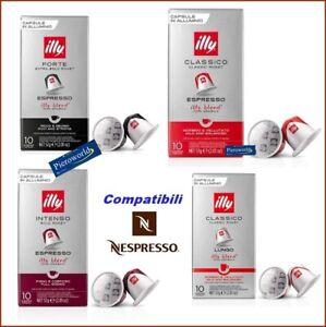 120 ILLY espresso coffee compatible capsule with Nespresso® machin pods #20+ 100 | eBay