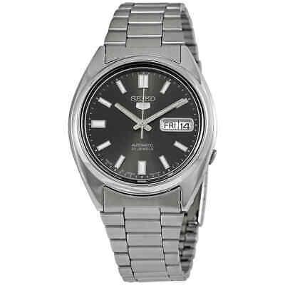 Seiko Series 5 Automatic Black Dial Men's Watch SNXS79J1 4900969843426 | eBay