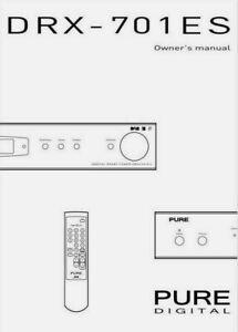 Pure Digital DRX-701ES DAB AM FM Radio Tuner Operating