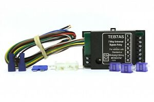 towing electrics limited teb7as wiring diagram electrolux rm212f universal bypass relay towbar kit image is loading