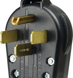 cooper wiring devices s 21 sp l dryer angles plug 30 amp 125 250 volt black for sale online ebay [ 1114 x 1477 Pixel ]