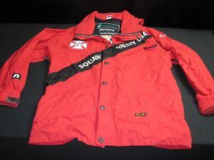 ski patrol jacket red