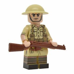 Lego Custom WW2 British Infantry (Desert) Full Body Printing NEW Brickarms SMLE | eBay