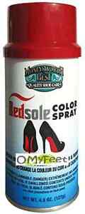 RedSole Color Spray Restore Red Bottom Shoe Sole Walk On Red Paint Moneysworth  eBay