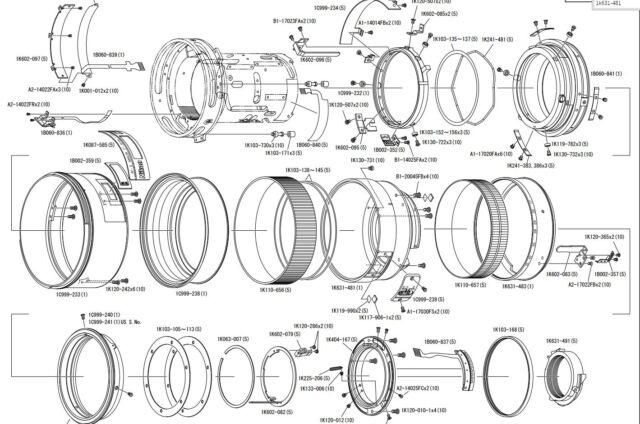 Nikon AF-S DX Nikkor 17-55mm f/2.8G ED-IF REAR FIXED TUBE