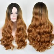 women's long wavy curly hair full