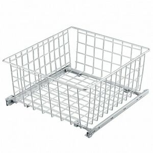 Pull out Wire Basket H22cm /Kitchen Bedroom/ Drawer