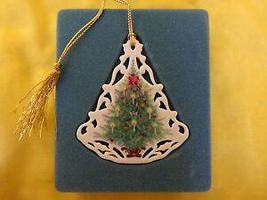 Vintage Lenox Christmas Ornaments
