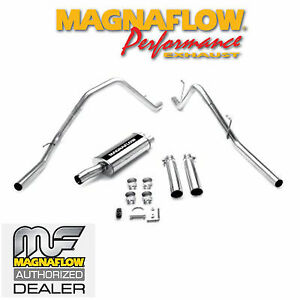 details about magnaflow cat back stainless dual exhaust 2004 2005 dodge ram 1500 5 7l hemi