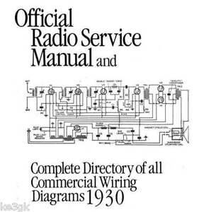 Gernsback Official Radio Service Manuals 1 thru 8 * DVD