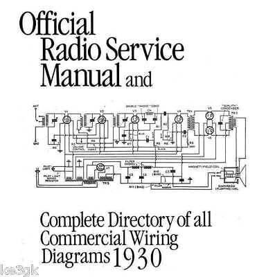 Gernsback Official Radio Service Manuals 1 thru 8 * DVD