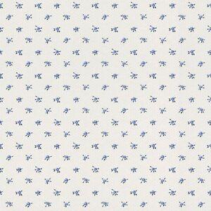 details sur papier peint 288734 petite fleur 4 petites fleurs bleu blanc non tisse papier
