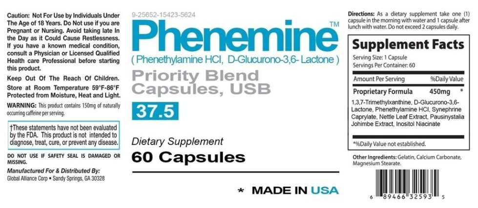 2 Phenemine Catalyst Appetite Suppressant Diet Pills That work for All Over 18 y