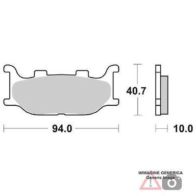 Brake pads Ant. DX-SX Yamaha xvs to Midnight Star 1300 07