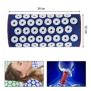 details about iplikator kuznetsova mat pillow bed of nails acupressure applicator kuznetsova