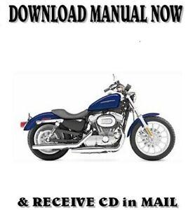 2006 Harley-Davidson SPORTSTER XLH repair shop service