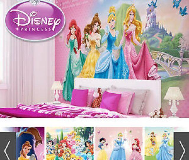 Image Is Loading Disney Princesses Wall Mural Photo Wallpaper Girls Bedroom