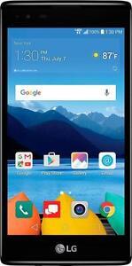 New Verizon Prepaid - LG K8 V 4G LTE with 16GB Memory Prepaid Cell Phone - Onyx