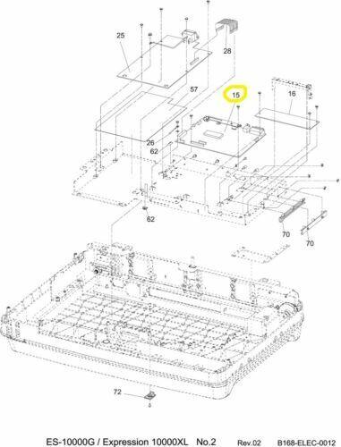 Epson 2088348 Expression 10000XL Scanner Main Logic Board